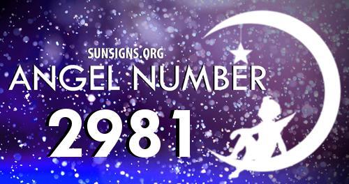 angel number 2981