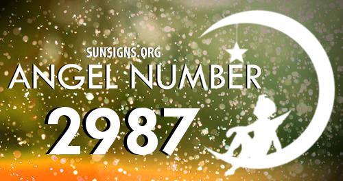 angel number 2987