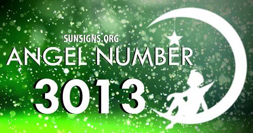 angel number 3013