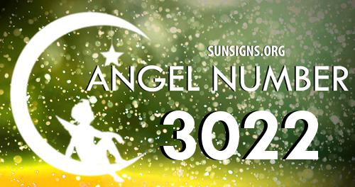 angel number 3022