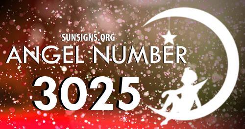 angel number 3025
