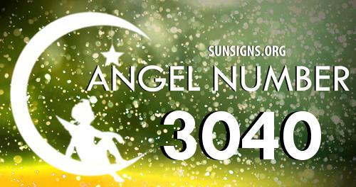 angel number 3040