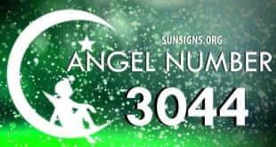 angel number 3044