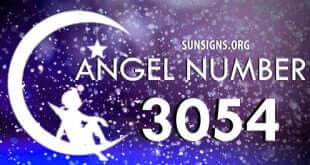 angel number 3054