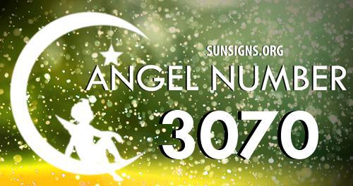 angel number 3070