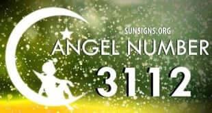 angel number 3112
