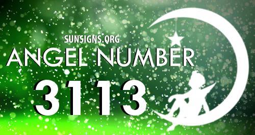 angel number 3113