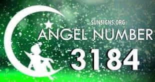 angel number 3184