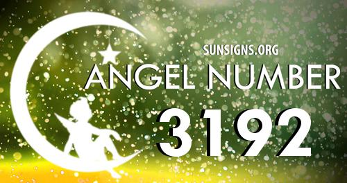 angel number 3192