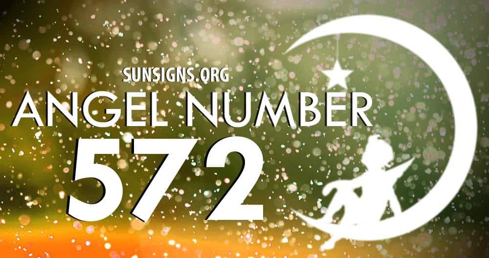 angel number 572