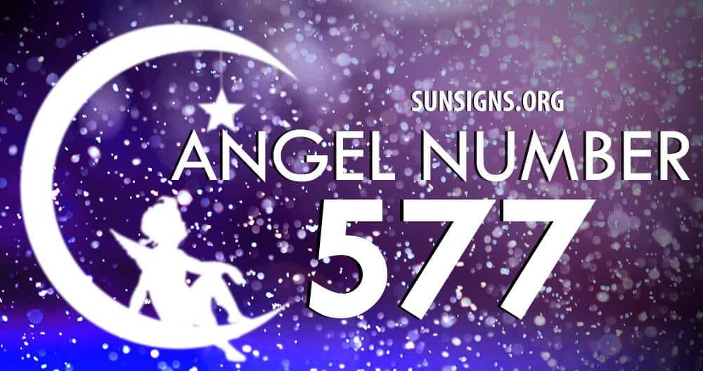 angel number 577