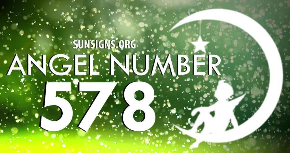angel number 578
