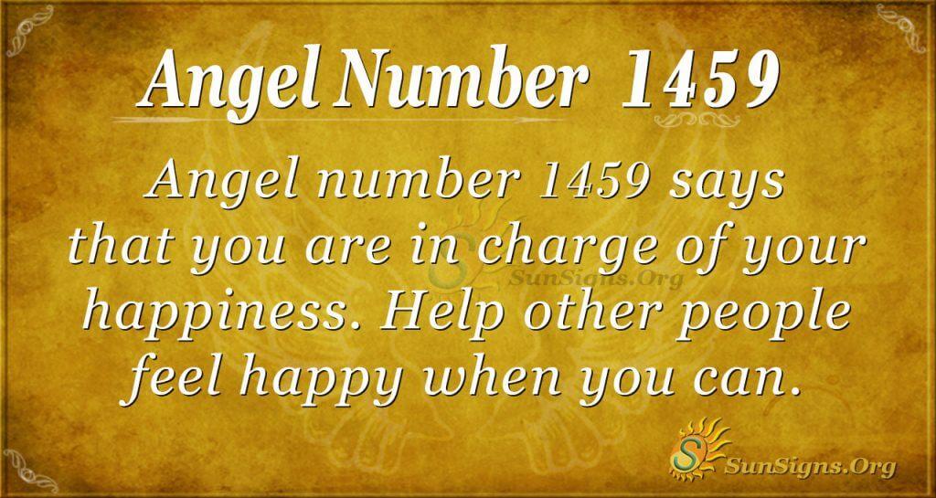 Angel Number 1459