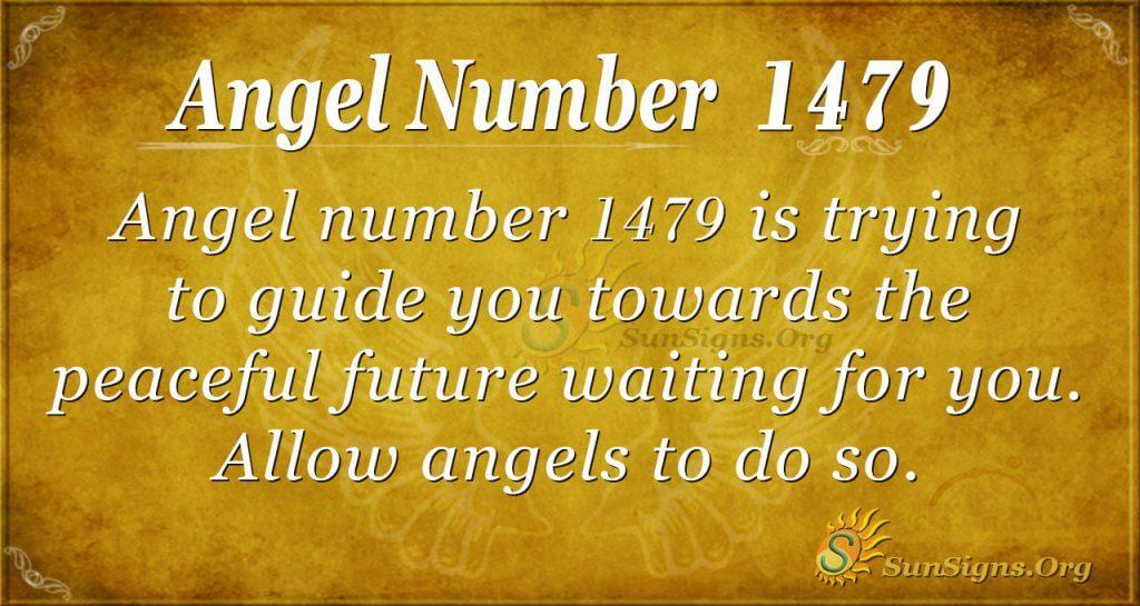 Angel Number 1479