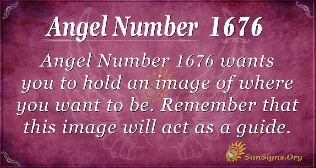 Angel Number 1676