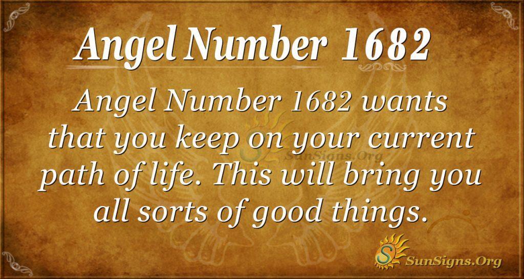 Angel Number 1682