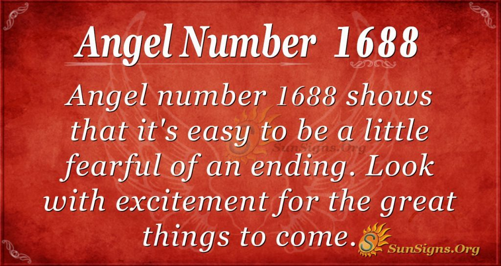 Angel Number1688