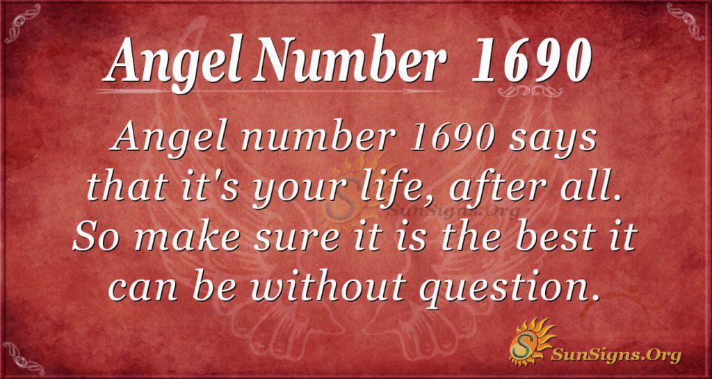 Angel Number 1690