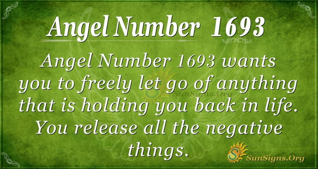 Angel Number 1693
