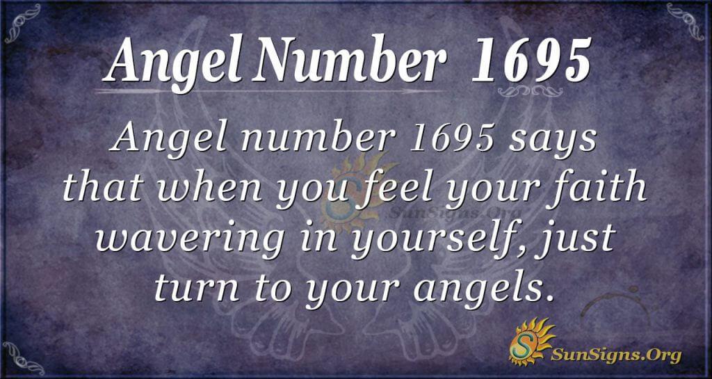 Angel Number 1695