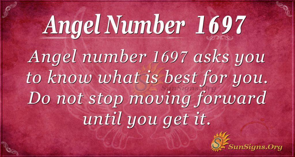 Angel Number 1697