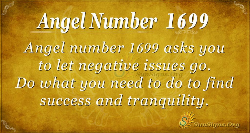 Angel Number 1699
