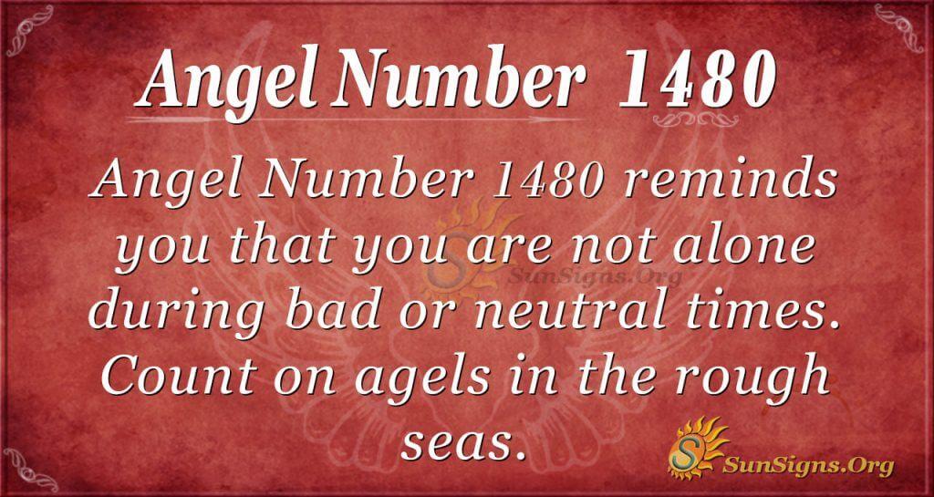 Angel Number1480