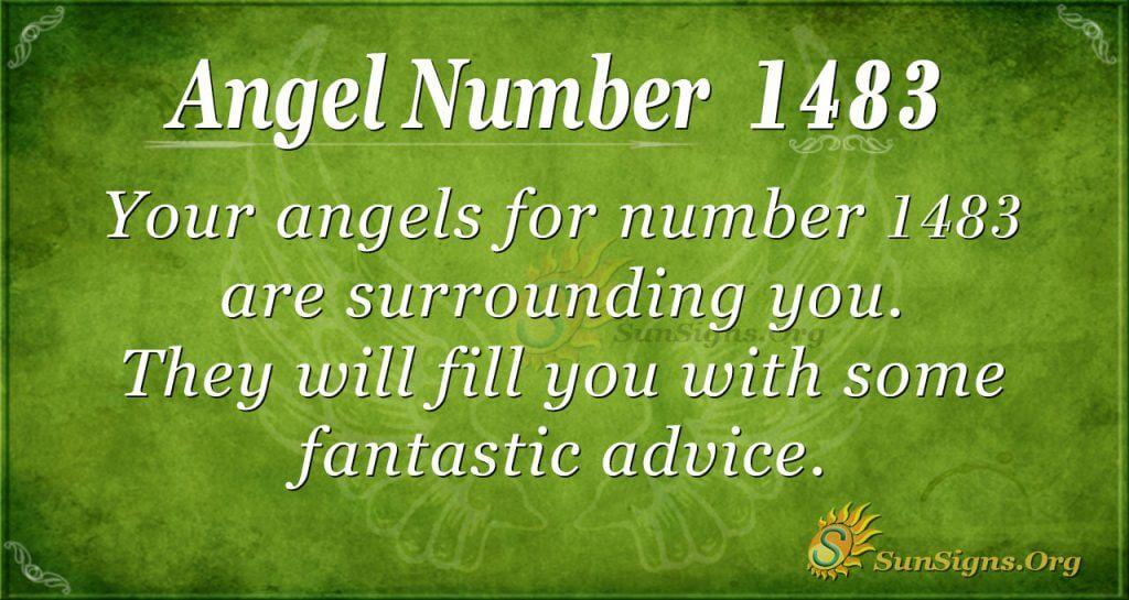 Angel Number 1483