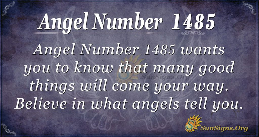 Angel Number 1485
