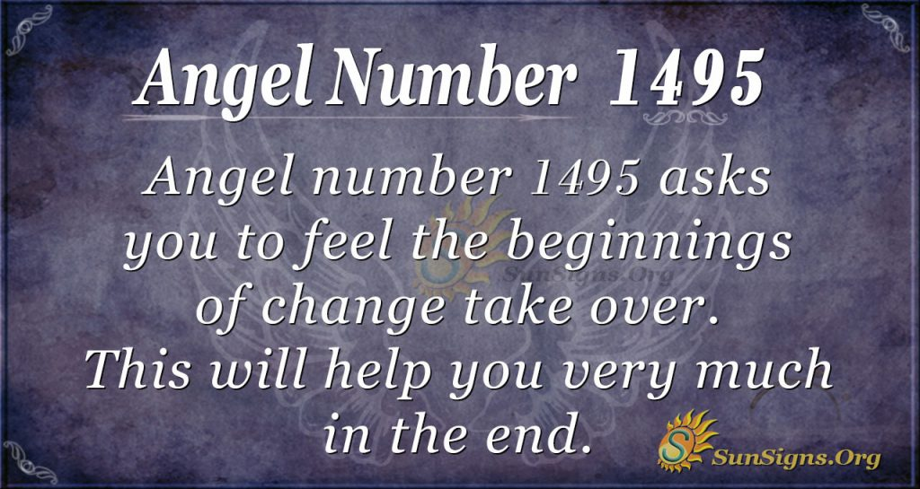 Angel Number 1495