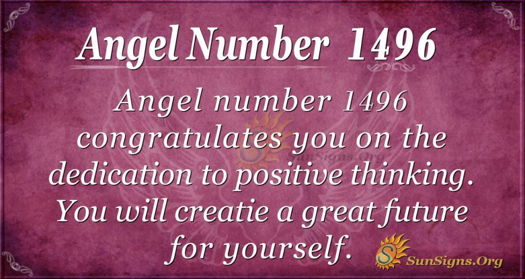 Angel Number 1496