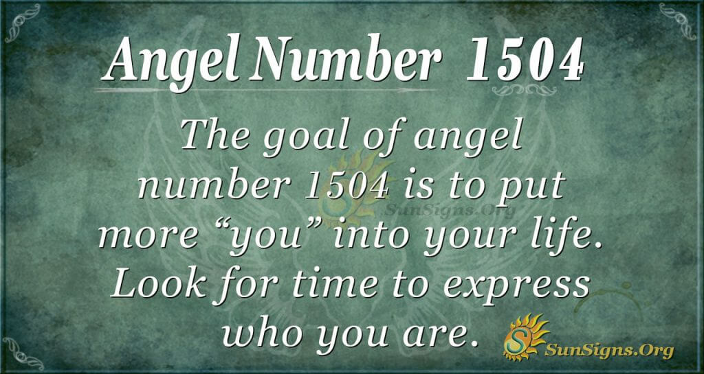 Angel Number 1504