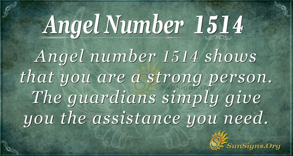 Angel number1514