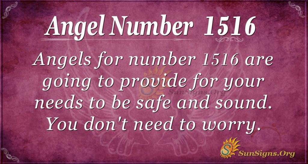 Angel Number 1516