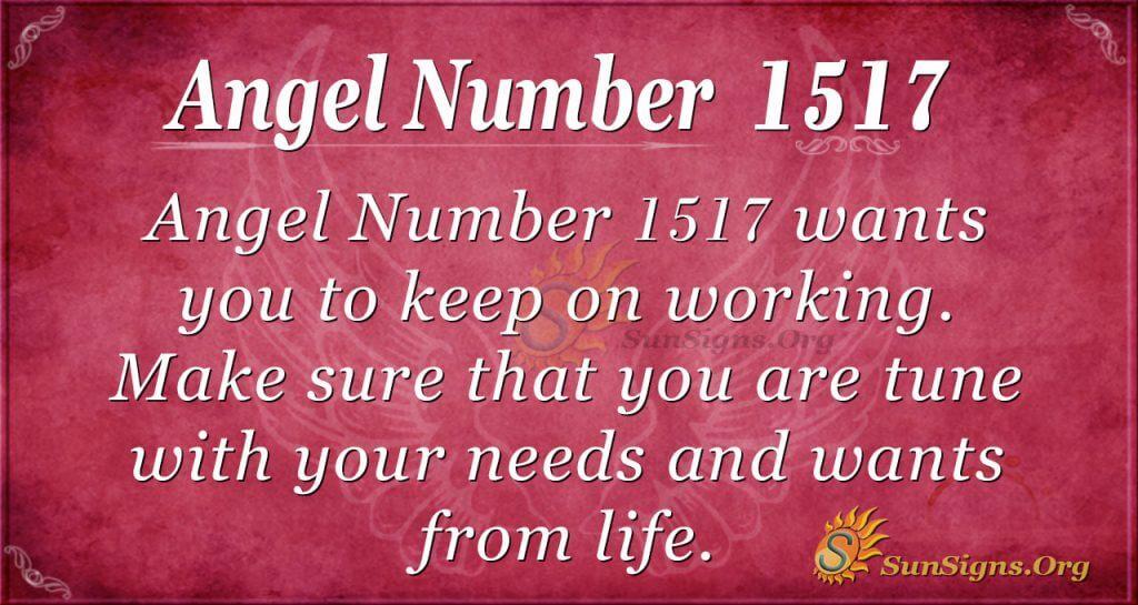 Angel Number 1517