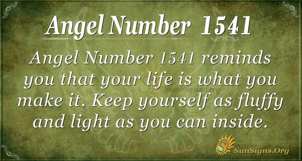 Angel Number 1541