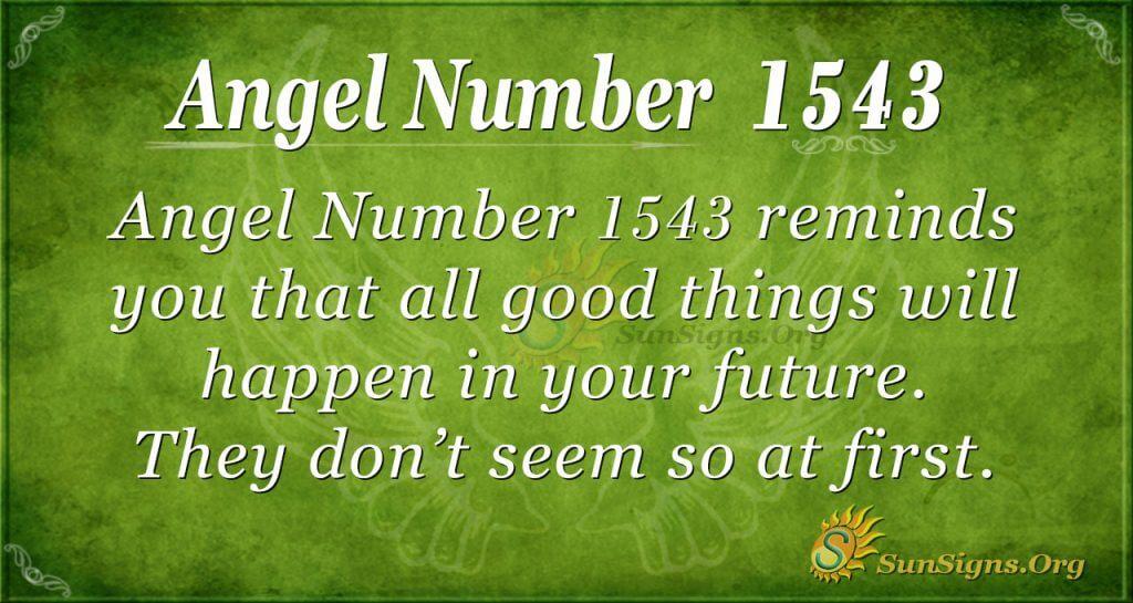 Angel Number 1543