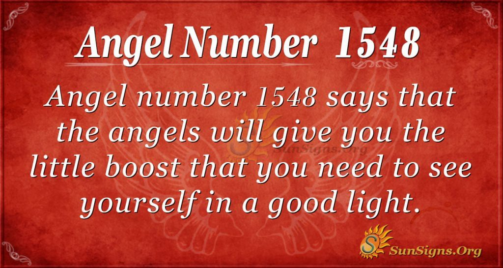 Angel number1548