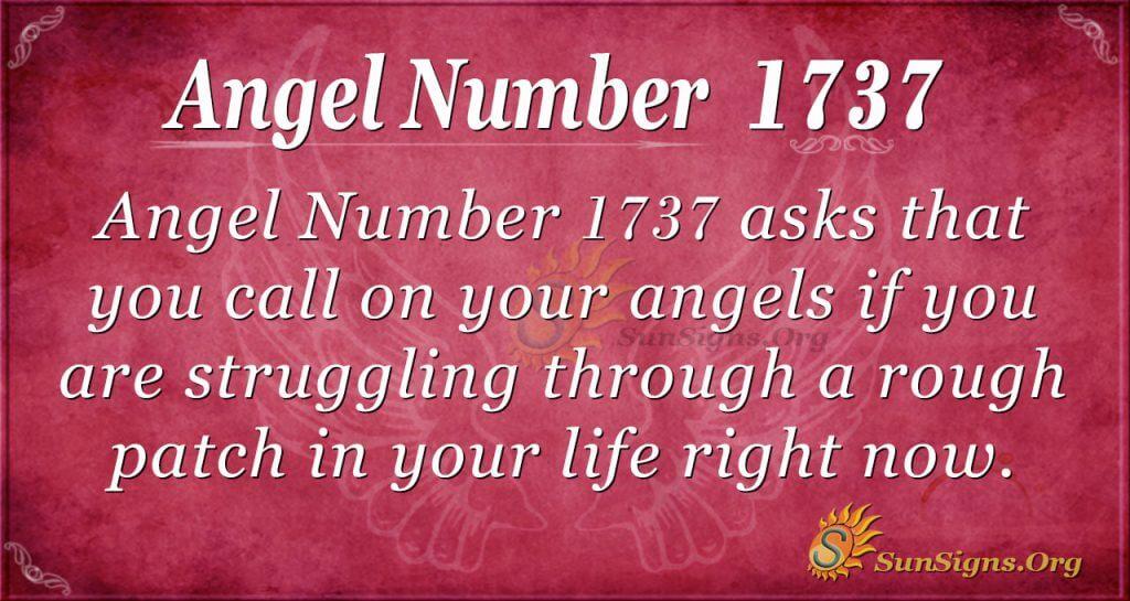 Angel Number1737