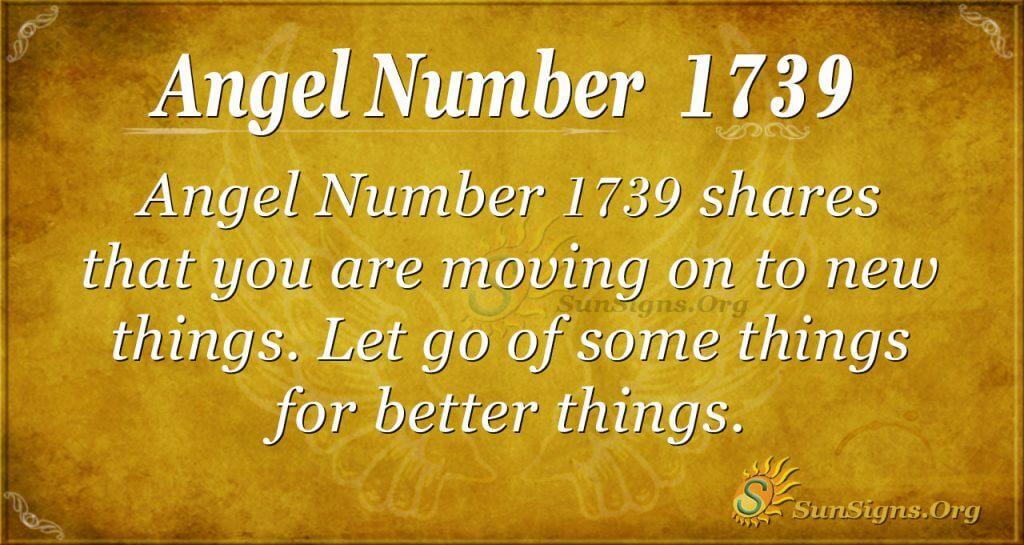 Angel Number 1739