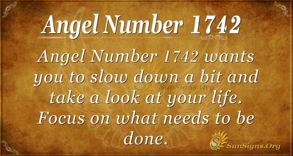 Angel Number1742