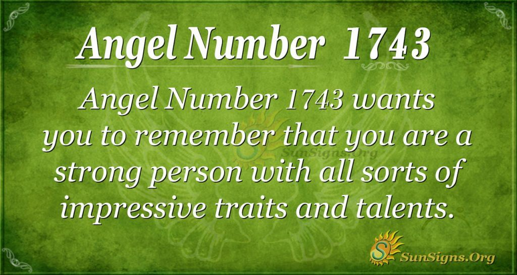 Angel Number1743
