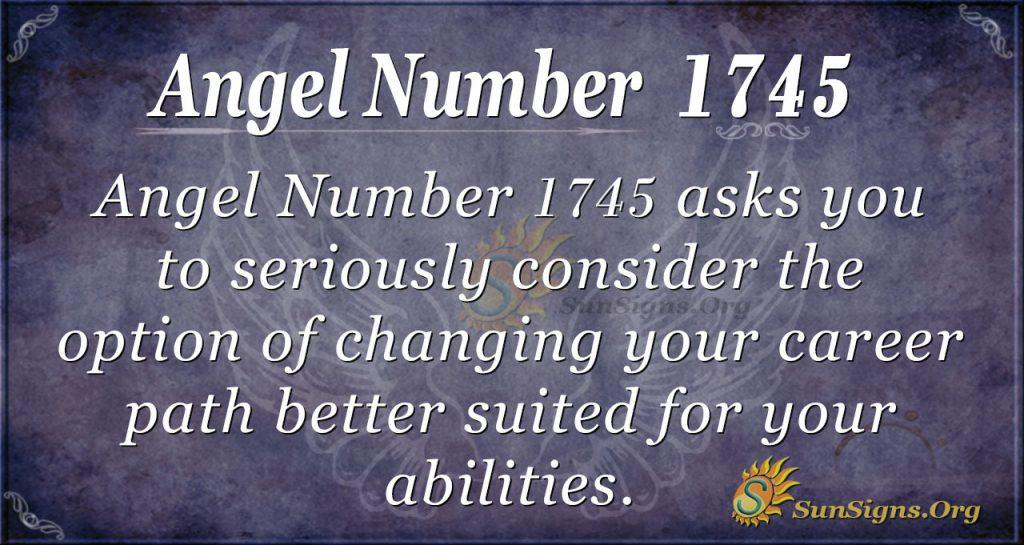 Angel Number 1745