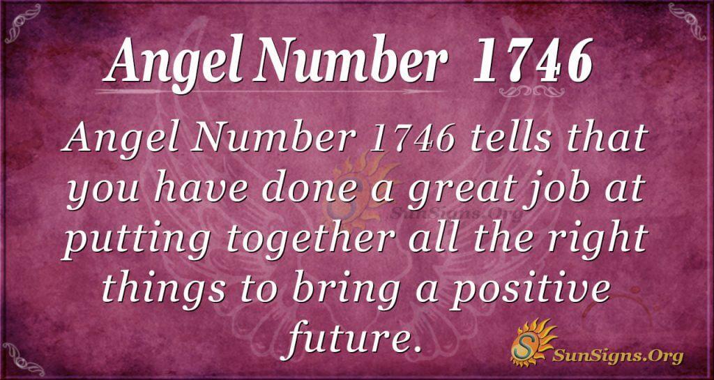 Angel Number 1746