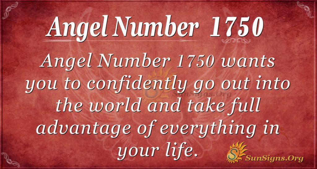 Angel Number1750