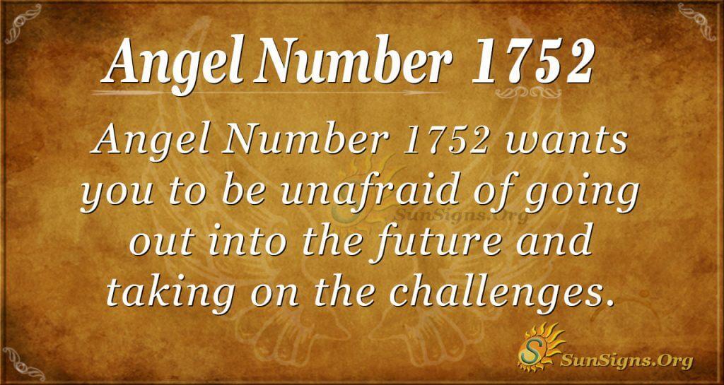 Angel Number1752