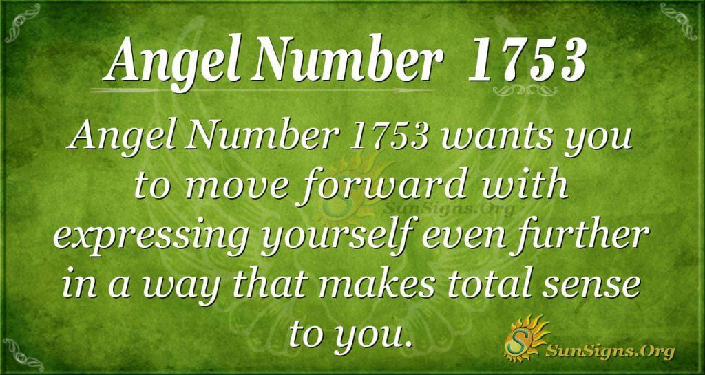 Angel Number1753