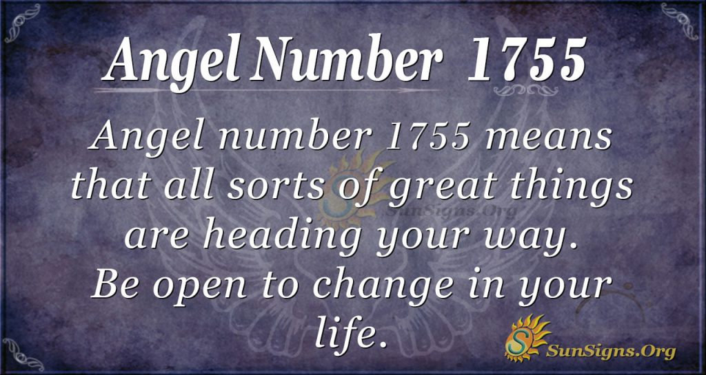 Angel Number1755