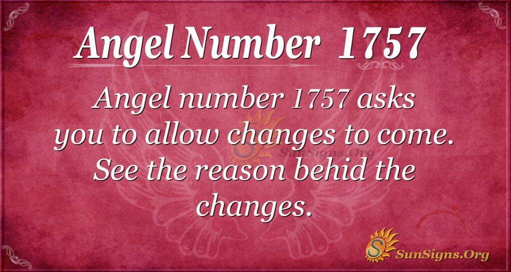 Angel Number 1757