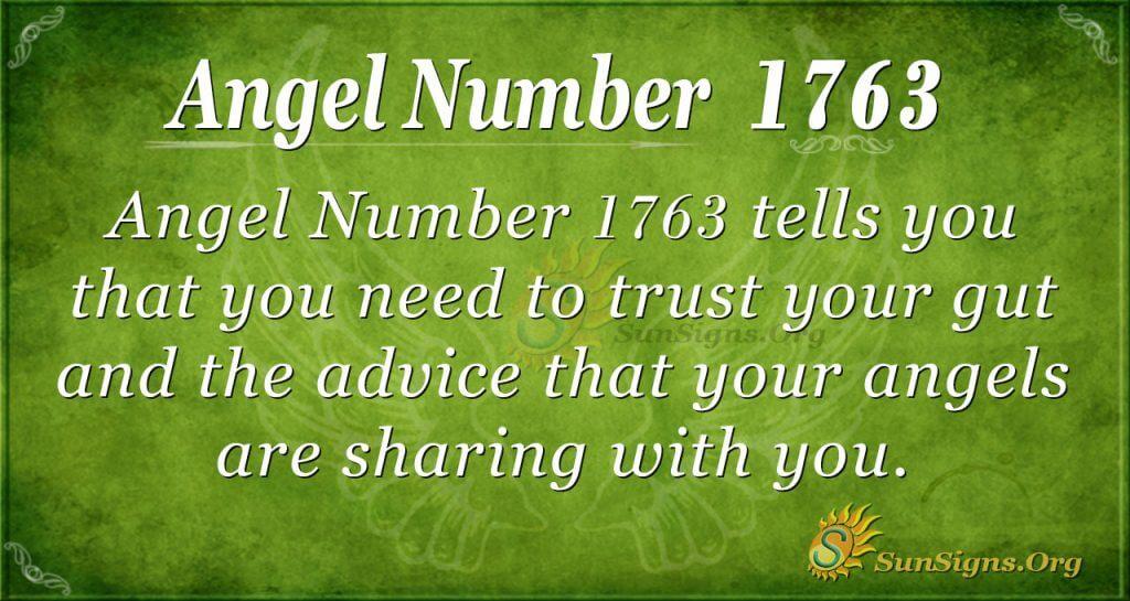 Angel Number 1763